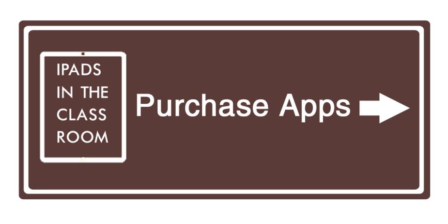 Road Sign - iPad App Purchase