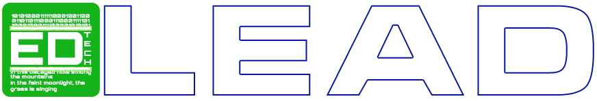 Ed Tech Lead Blue #2