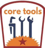 Core Tools patch cropped frosty