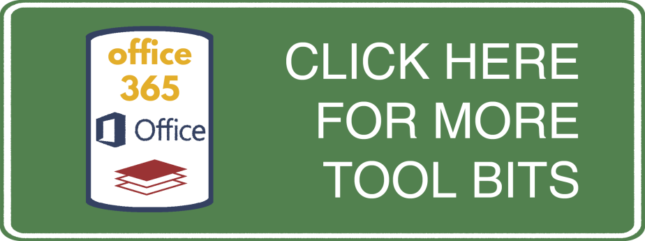 Tool Bits Click Here - Office 365